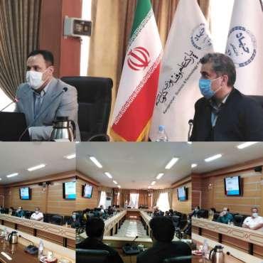 نشست دعوت از مدیران واحد های فناور و دانش بنیان پارک علم و فناوری کرمانشاه در هیت مدیره شرکت سرمایه گذاری استان کرمانشاه
