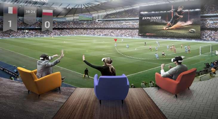 انقلابی در ورزش با فناوری واقعیت افزوده AR