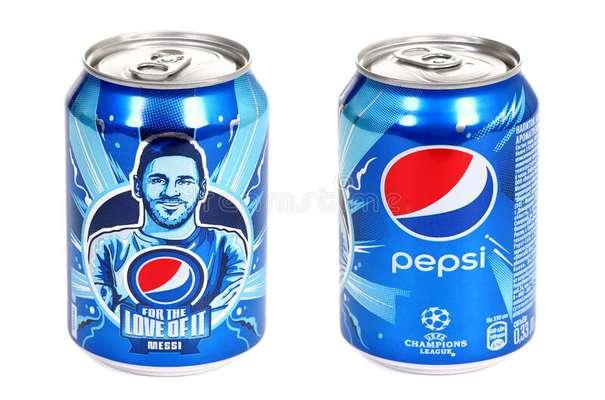 شرکت پپسی کمک می کند تا فوتبال رشد کند.