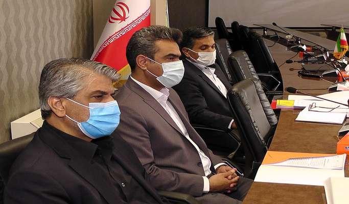 نشست مشترک با مدیران سرپرستی بانک ملی استان (تصویری)