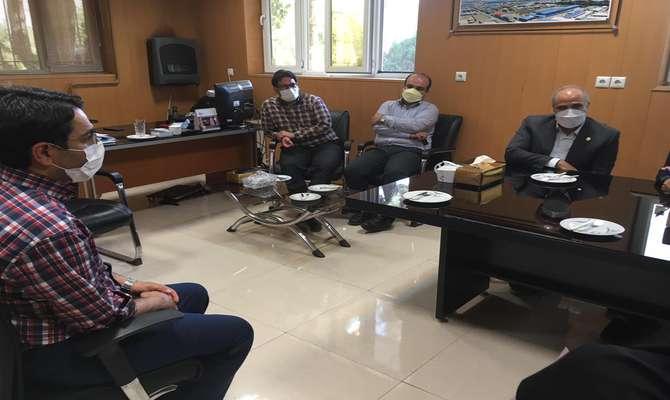 خدمات حوزه معاونت پشتیبانی فناوری پارک خراسان برای شرکتهای مرکز رشد فناوری نیشابور تشریح شد