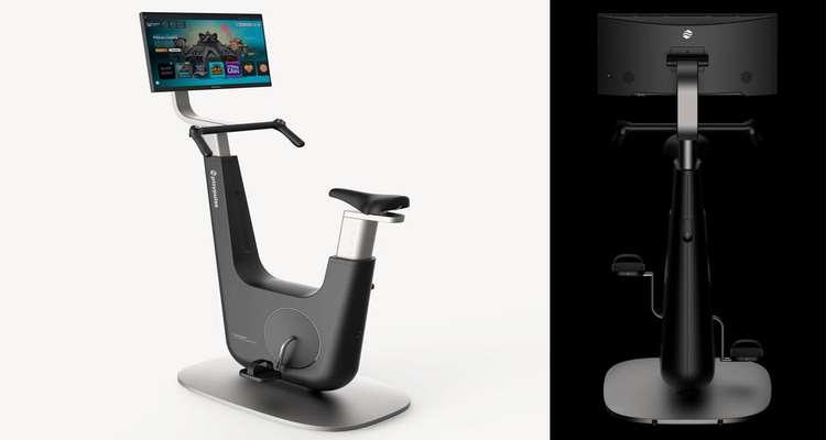 Playpulse One دستگاهی که بازی و دوچرخه ورزشی ثابت را با هم ترکیب می کند.
