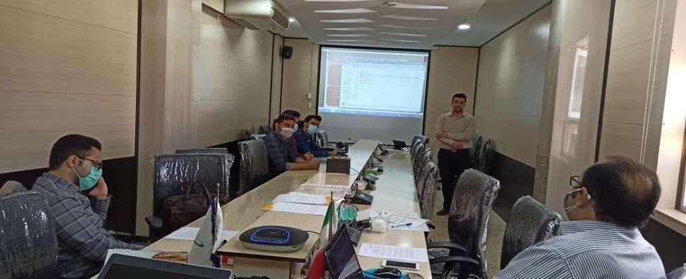 پنجاه و سومین جلسه شورای فناوری مرکز رشد واحد های فناور شهرستان خرم آباد