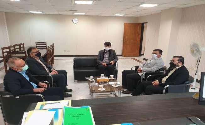 توسعه همکاری های مشترک پارک علم و فناوری خلیج فارس و بانک ملی استان بوشهر