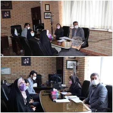سومین جلسه شورای مرکز نوآوری و شتابدهی جوانان پارک علم و فناوری کرمانشاه برگزار شد