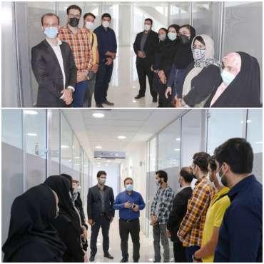 تیم های منتخب طرح منش از برج فناوری بازدید کردند
