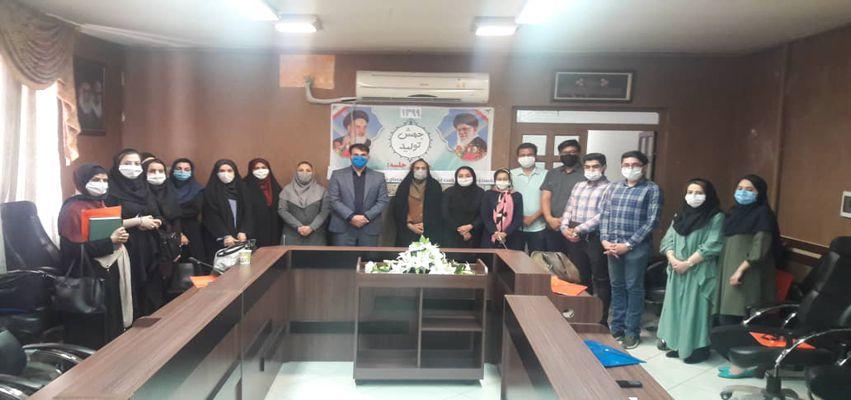 دیدار سمن های جوانان با سرپرست محترم اداره ورزش و جوانان شهرستان شاهرود در روز تشکل های مردم نهاد