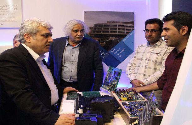 بازدید معاون علمی و فناوری رئیس جمهور از پارک علم و فناوری فارس