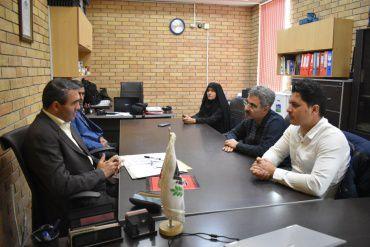 بازدید بازرسان وزارت کاراز شرکت فناوران کاشت زاگرس