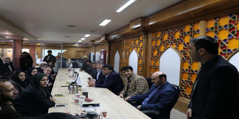 بازدید اعضا شورای شهر و مدیران شهری قزوین