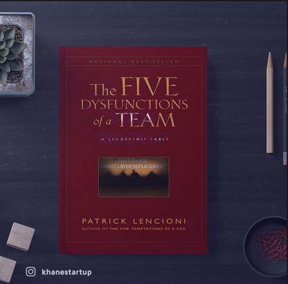 معرفی کتاب: ۵ دشمن کار تیمی