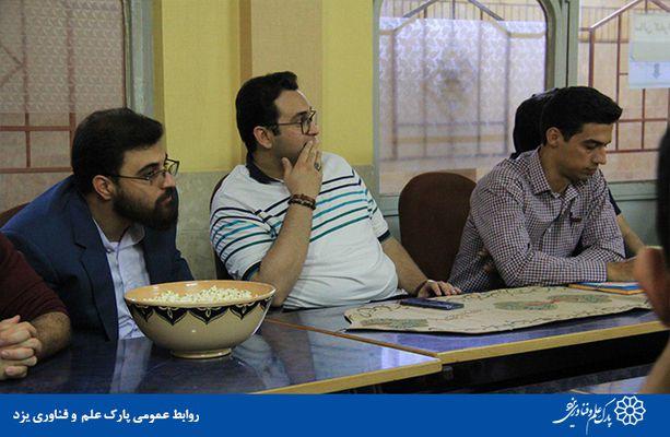 برگزاری دورهمی خلاق نشین در پردیس علوم انسانی و هنر پارک یزد