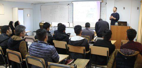 """برگزاری دوره """"آشنایی با استارتاپ ها در قالب مباحثه تجاری """"در دانشگاه تفرش"""