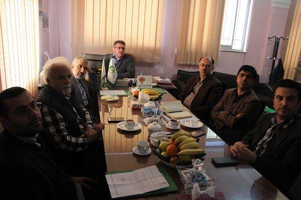 چهل و چهارمین جلسه شورای مرکز رشد واحدهای فناوری طبرستان برگزار شد