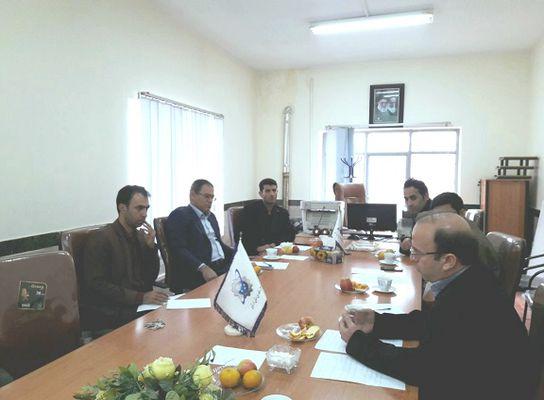 برگزاری هفدهمین جلسه شورای فناوری مرکز رشد واحد های فناور شهرستان دلفان