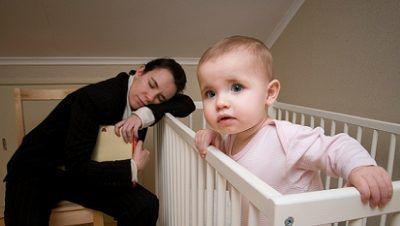 نوزادان شب زنده دار (نوزادانی که ساعت خواب متفاوتی دارند)