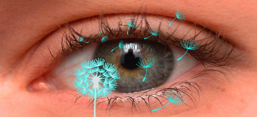 حساسیت چشمی : چگونه از شر خارش و اشکریزش چشم خلاص شویم؟
