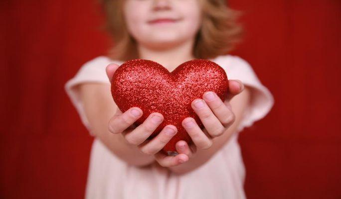 قلب کودکان،مهم ترین سرمایه آنهاست !