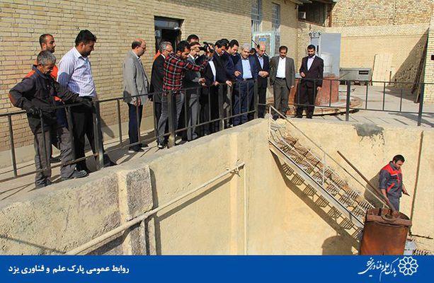 بازدید از فرآیند ساخت انبوه یاتاقان های فوق سنگین شرکت صافات انرژی یزد