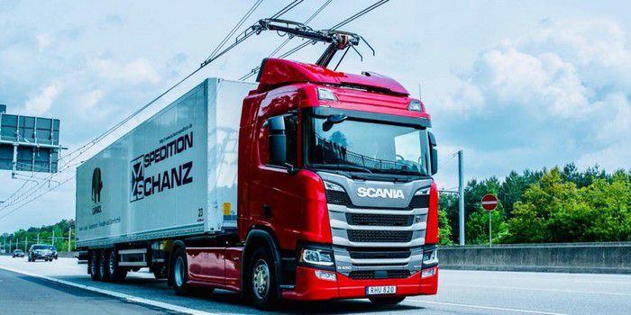 بزرگراه برقی eHighway زیمنس در آلمان افتتاح شد