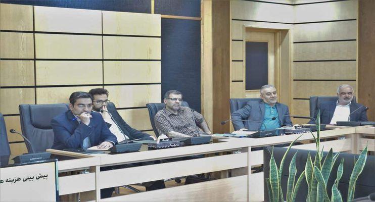 اولین جلسه شورای پارک علم و فناوری دانشگاه صنعتی شریف در سال ۹۸