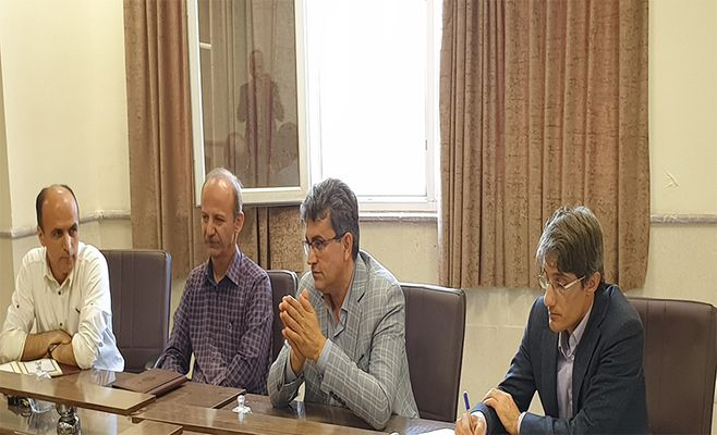 دیدار رییس و مدیران پارک علم و فناوری کردستان با رییس و اعضای هیئت علمی دانشکده منابع طبیعی دانشگاه کردستان