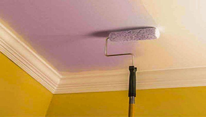 چطور نقاشی سقف خانه را در یک روز تمام کنیم؟
