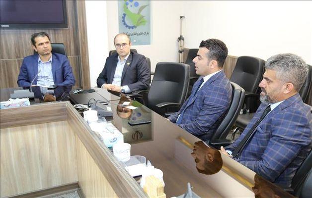 حضور و گفتگوی هیات دانشگاه حلبچه عراق با رئیس پارک علم و فناوری گیلان