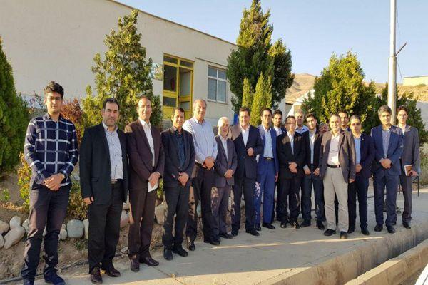 بازدید  دکتر وحدت رئیس صندوق نوآوری و شکوفایی از  پارک علم و فناوری البرز