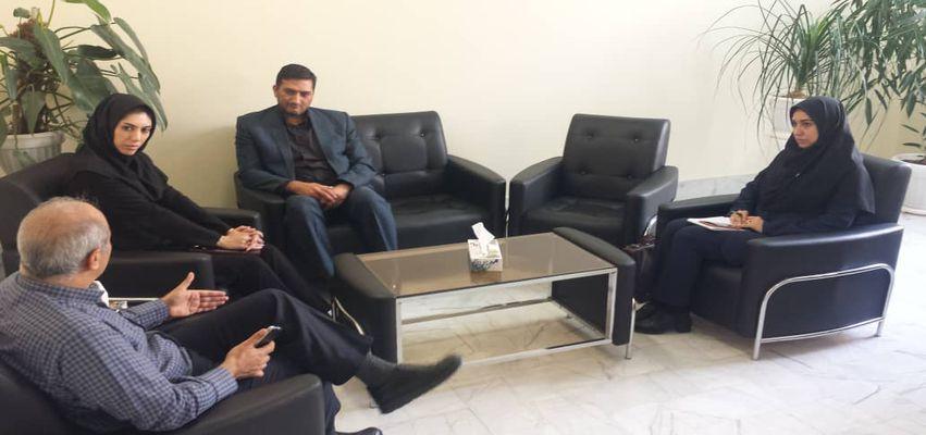 بازدید نمایندگان معین اقتصادی از پارک علم و فناوری خراسان