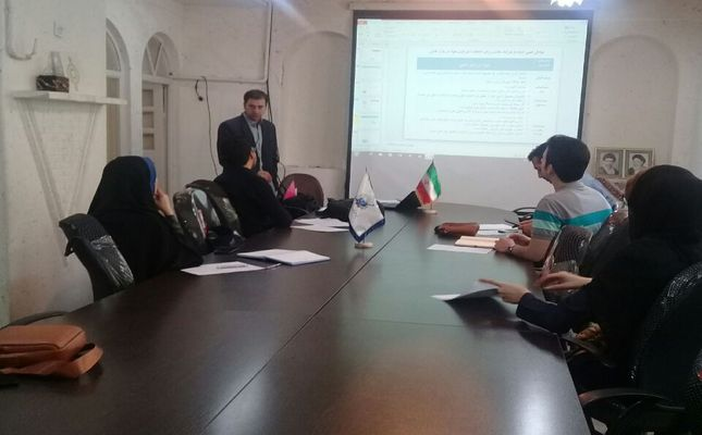 برگزاری کارگاه آموزشی استراتژی های بازاریابی در مرکز رشد واحدهای فناور شهرستان بروجرد توسط استاد محمد نصرالهی