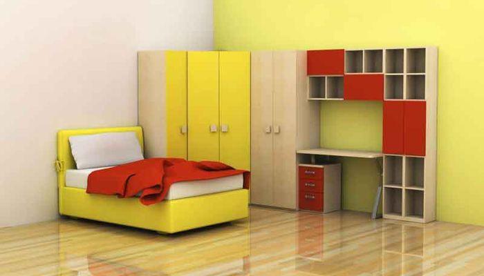 مدل کمد دیواری اتاق بچه با طرح های شیک و زیبا