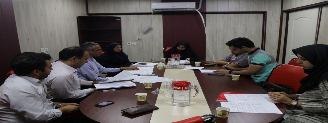 برگزاری جلسه کمیته نظارت دانشکده بر فعالیت انجمن های علمی دانشجویی