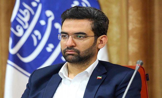 وزیر جوان در پارک علم و فناوری کردستان