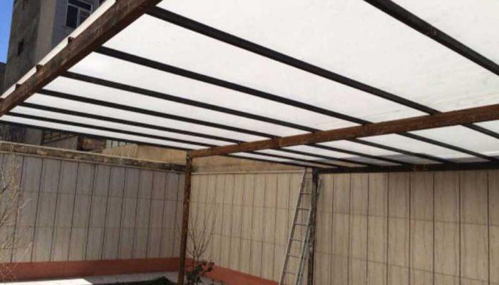 چرا پوشش سقف حیاط خلوت اهمیت زیادی دارد؟