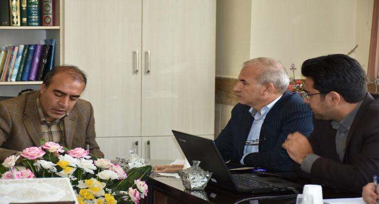 جلسه مشترک پارک علم و فناوری و اداره کل آموزش و پرورش استان برگزار شد
