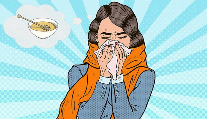 درمان سرماخوردگی و آنفولانزا با عسل!، باورهای غلط