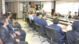 The symposia meeting of knowledge companies was held at the Science and Technology Park and the Department of Endowments and Charity of the province.