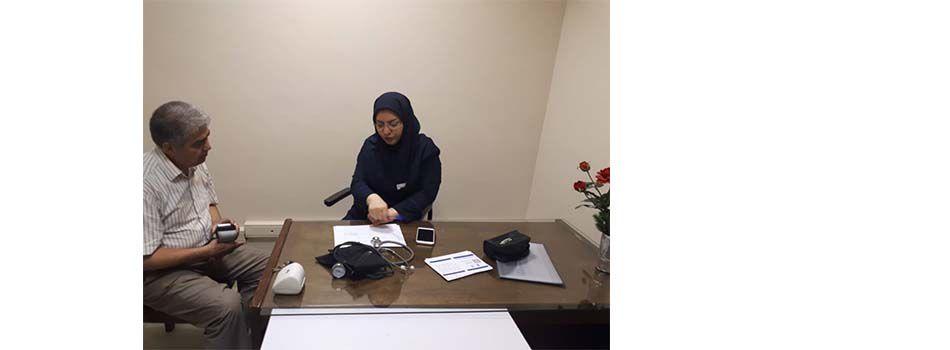 اجرای طرح ملی کنترل فشارخون در دانشکده بهداشت