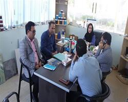 بازدید از فعالیت های واحدهای فناور مستقر در مرکز رشد نوشهر