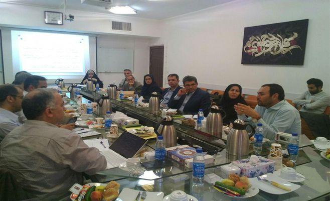 دومین جلسه هیات مدیره انجمن علمی پارک های علم و فناوری و مراکز رشد ایران