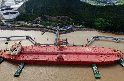 نخستین ابر نفتکش هوشمند جهان در چین رونمایی شد