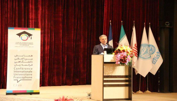 اولین کنفرانس بین المللی دانشگاهی فرانکوفونی تهران در پارک علم و فناوری دانشگاه تهران
