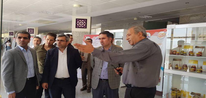 بازدید مدیران شهرداری کرج از  دستاوردهای فناورانه پارک علم و فناوری البرز