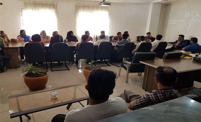 اولین رویداد ۴pm در مرکز رشد مریوان برگزار شد