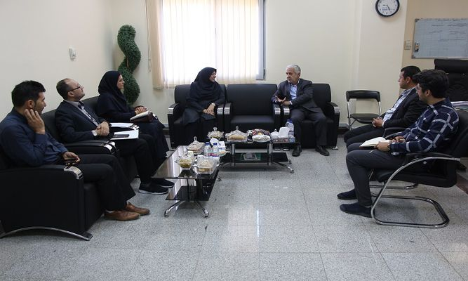 بازدید مدیر کل استاندارد استان از پارک علم و فناوری البرز