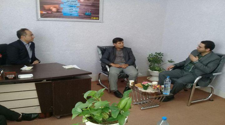 حضور رئیس و پرسنل پارک علم و فناوری خراسان در شهرستان تربت حیدریه