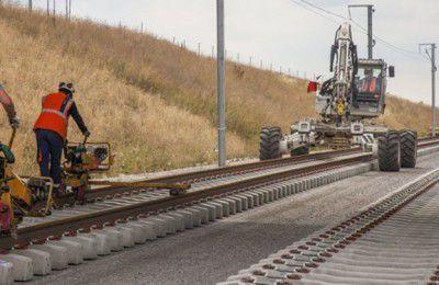 راهآهن میانه-اردبیل جان میگیرد/پیشرفت ۷۷ درصدی ایستگاه اردبیل