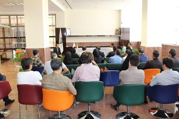 دیدار و گفت و گوی صمیمانه سرپرست پارک علم و فناوری آذربایجان غربی با شرکت های دانش بنیان و فناور مستقر در پارک