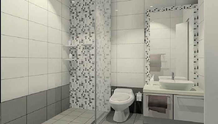 بهترین رنگ کاشی توالت کدام است؟